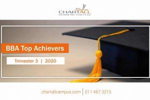 BBA Top Achiever Awards – Trimester 3 | 2020